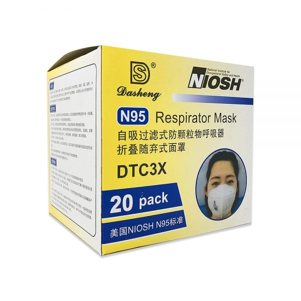 Dasheng N95 Respirator Mask DTC3X