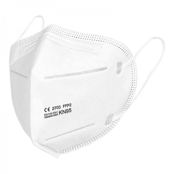 KN95 Safety Masks Dust Mask Face Mask Anti Virus Mesh Mask Folding Mask with Ear Loop N95 FFP2