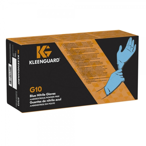 KleenGuard G10 ESD-Safe Blue Nitrile Textured Gloves